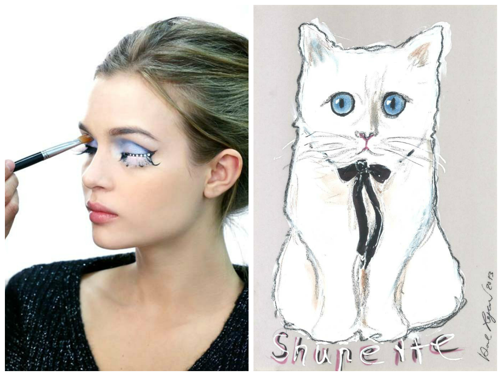 Choupette Make Up